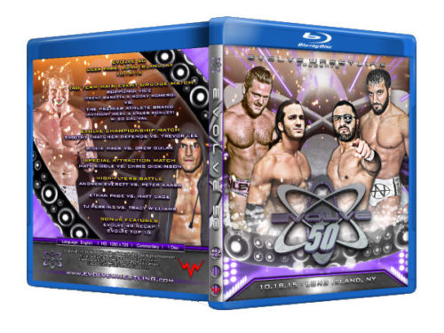 Evolve Wrestling - Volume 51 Event Blu Ray