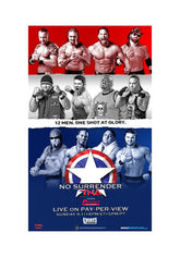 "TNA - No Surrender 2011 38""x24"" PPV Poster"