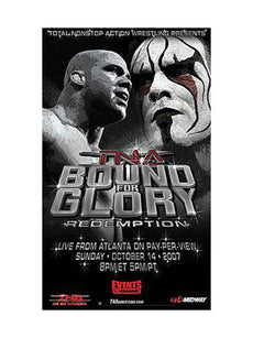 "TNA - Bound For Glory 2007 38""x24"" PPV Poster"