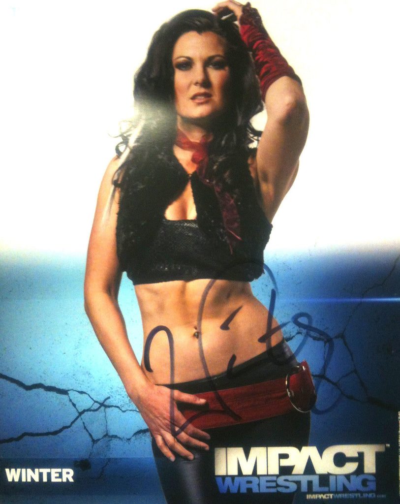 Signed Impact Wrestling - Winter - 8x10 - P60