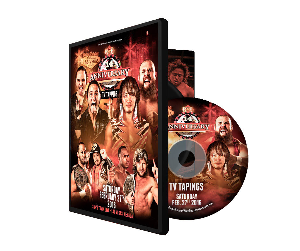 ROH - 14th Anniversary TV 2016 Tapings Event DVD
