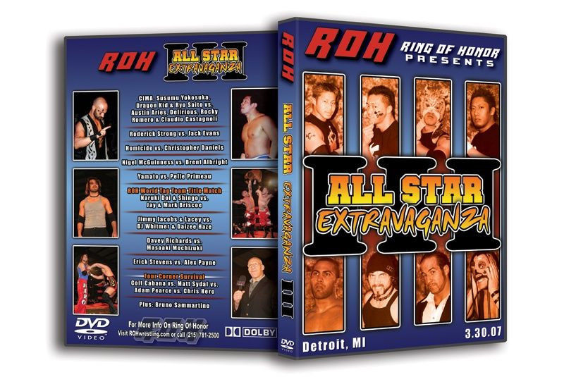 ROH - All Star Extravanganza 3 2007 Event DVD (Pre-Owned)