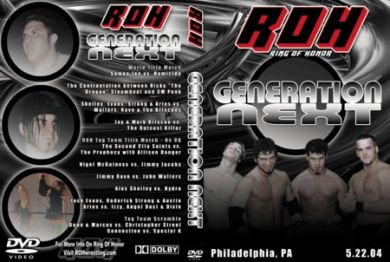 ROH - Generation Next 2004 Event DVD
