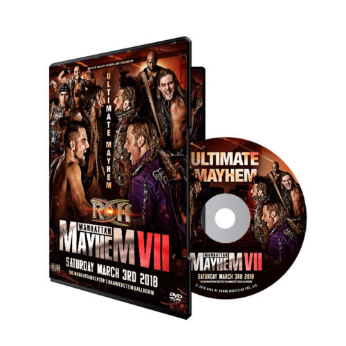 ROH - Manhattan Mayhem VII 2018 Event DVD
