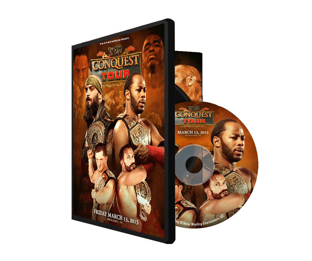 ROH - The Conquest Tour: Milwaukee 2015 Event DVD