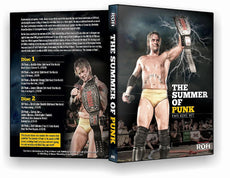 ROH - Best of CM Punk : Summer of Punk (2 Disc) DVD ( Pre-Owned )