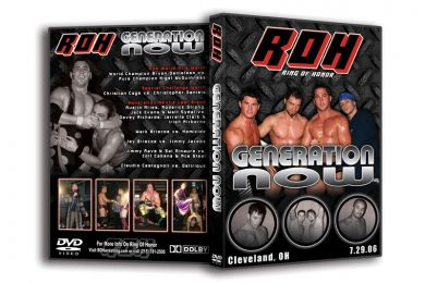 ROH - Generation Now 2006 Event DVD
