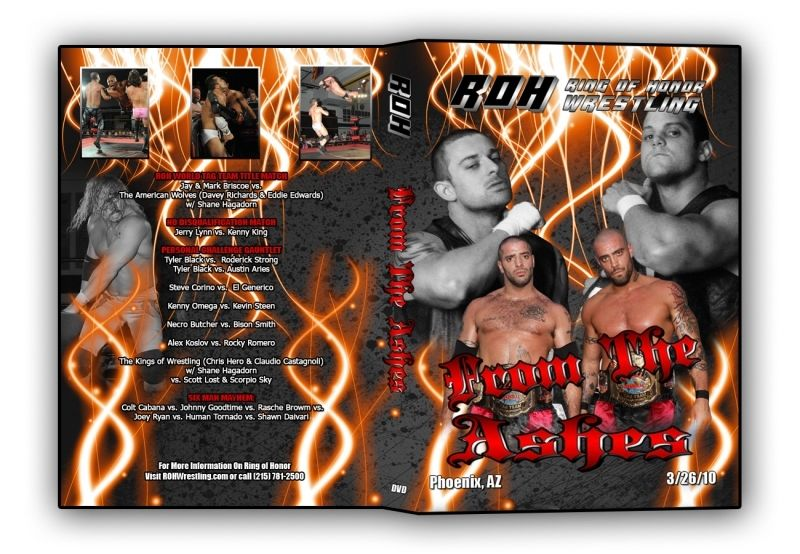 ROH - From The Ashes 2010 Event DVD (Pre-Owned)