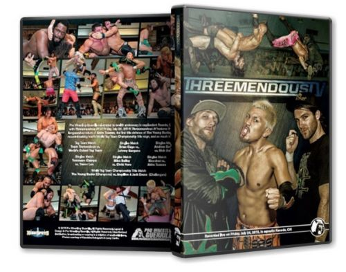 PWG - Threemendous IV 2015 Event DVD ( Pre-Owned )