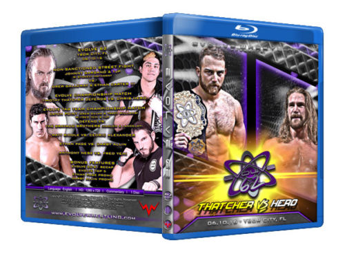 Evolve Wrestling - Volume 62 Event Blu Ray