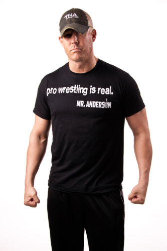 "TNA - Mr Anderson ""People are Fake"" T-Shirt"