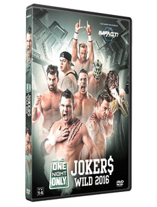 TNA - One Night Only: Jokers Wild 2016 Event DVD