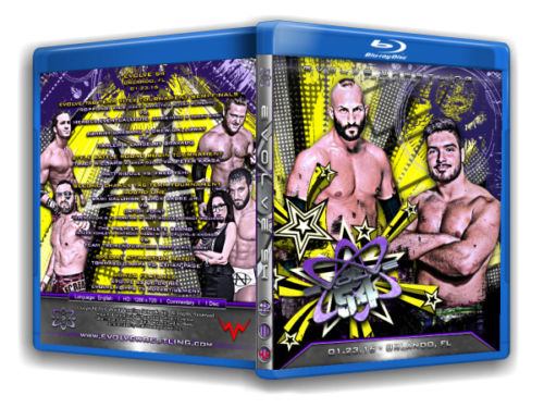 Evolve Wrestling - Volume 54 Event Blu Ray