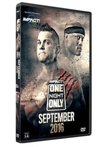 TNA - ONO September 2016 Event DVD