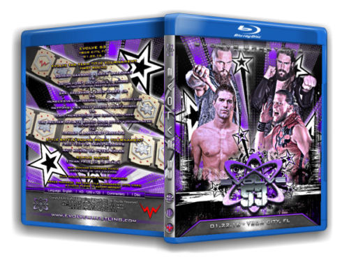 Evolve Wrestling - Volume 53 Event Blu Ray