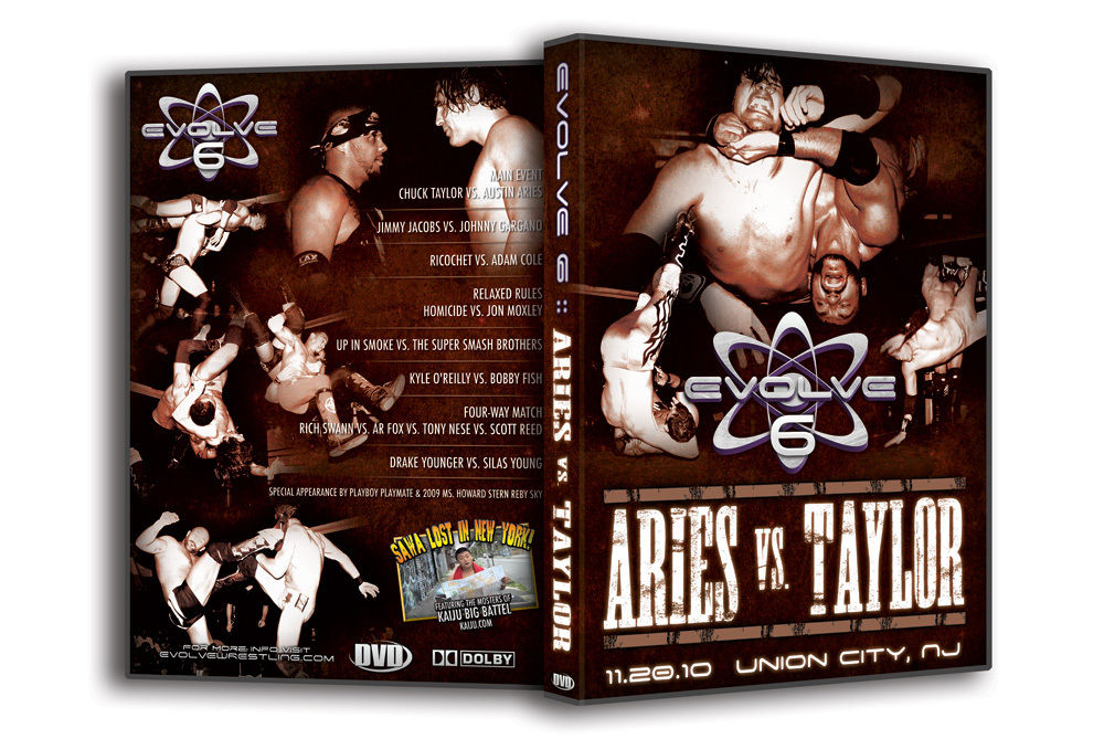 "Evolve Wrestling - Volume 6 ""Aries vs. Taylor"" Event DVD"