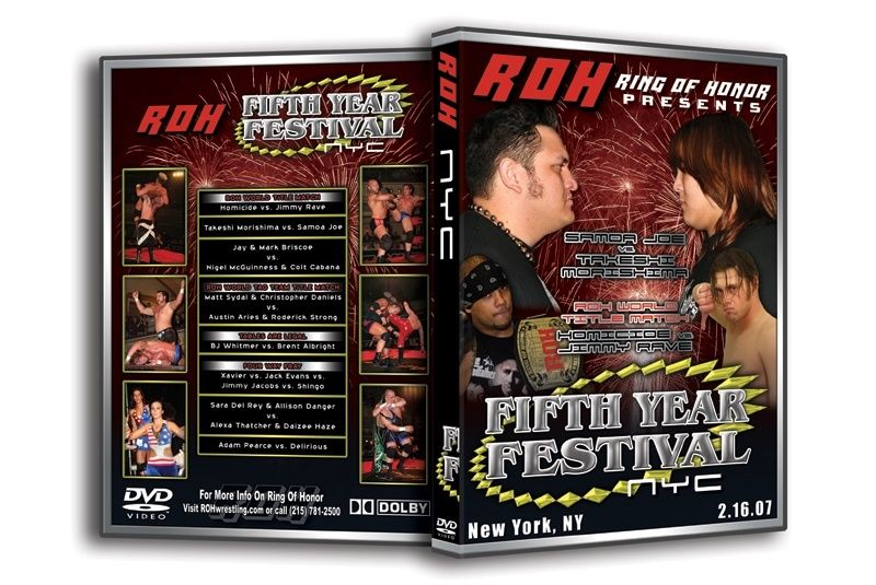 ROH - Fifth Year Festival: NYC 2007 Event DVD