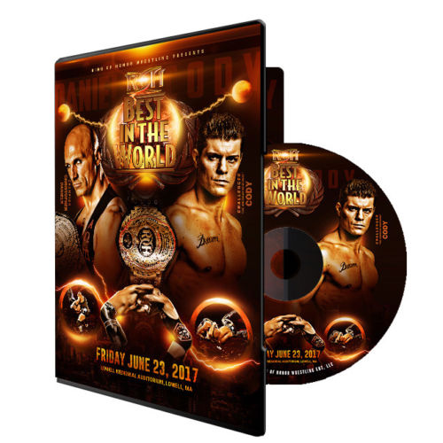 ROH : Best In The World 2017 Event DVD
