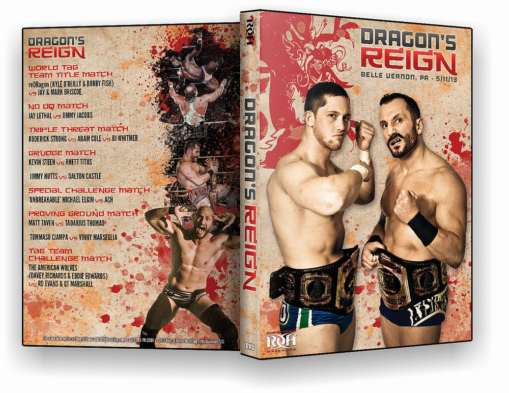 ROH - Dragon's Reign 2013 Event DVD