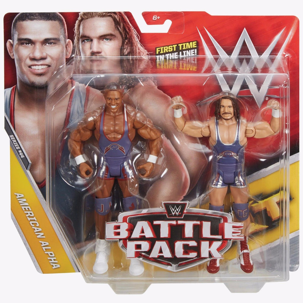 WWE Battle Pack Series 44 American Alpha Figures