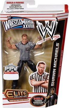 WWE Build A Wrestler Elite PPV Series 2 Shawn Michaels Figure