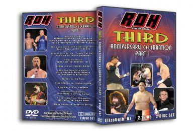 ROH - Third Anniversary Celebration Night 1 2005 Event DVD (Pre-Owned)