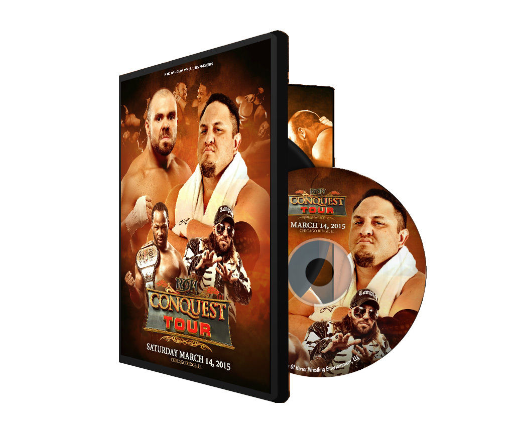 ROH - The Conquest Tour: Chicago 2015 Event DVD