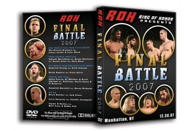 ROH - Final Battle 2007 Event DVD (Pre-Owned)