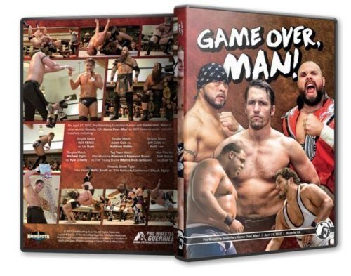 PWG - Game Over, Man! 2017 Event Blu-Ray
