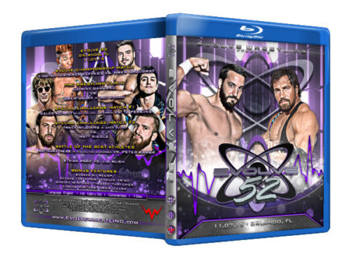 Evolve Wrestling - Volume 52 Event Blu Ray