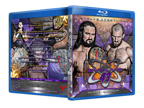 Evolve Wrestling - Volume 43 Event Blu Ray