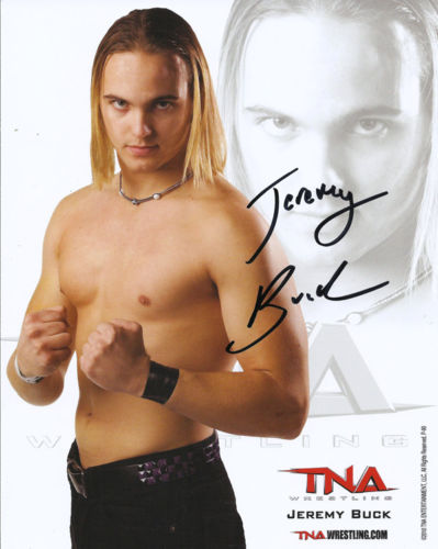 TNA - Jeremy Buck Signed 8x10