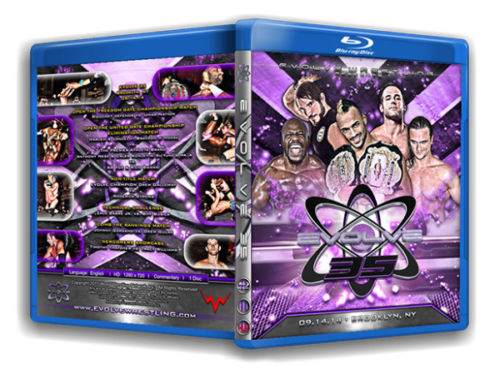 Evolve Wrestling - Volume 35 Event Blu Ray