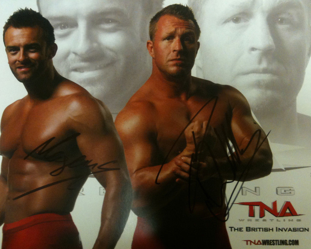 TNA British Invasion Signed 8x10 P-8