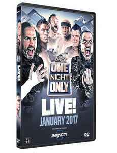 TNA - ONO Live January 2017 Event DVD
