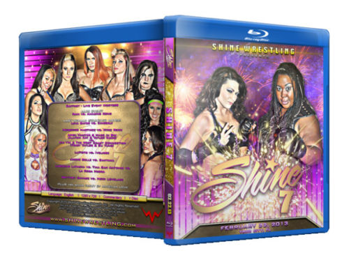 Shine Women Wrestling Volume 7 Blu-Ray