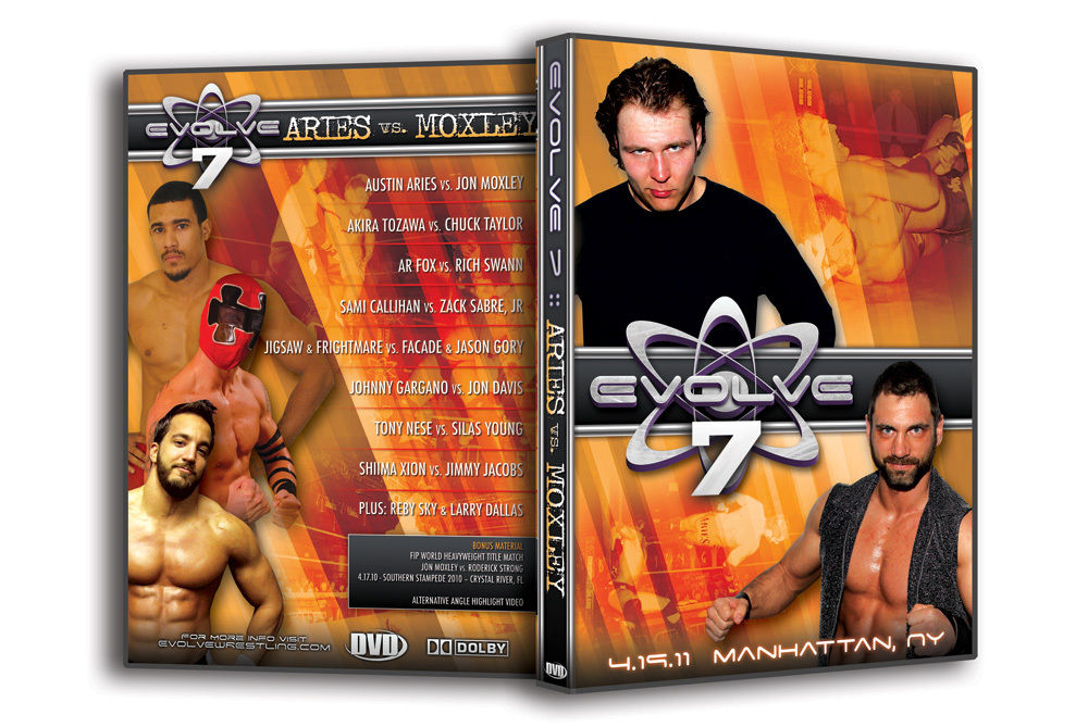 "Evolve Wrestling - Volume 7 ""Aries vs. Moxley"" Event DVD"