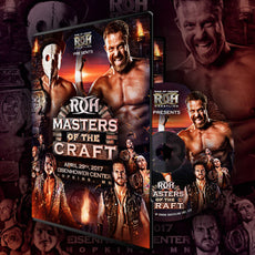 ROH - Masters Of The Craft 2017 Event DVD
