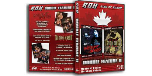 ROH - Double Feature 2 2009 Event DVD