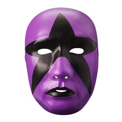 WWE - Stardust Purple Plastic Face Mask