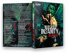 "ROH - Best of Delirious ""Masked Insanity"" 2 Disc DVD Set ( Pre-Owned )"