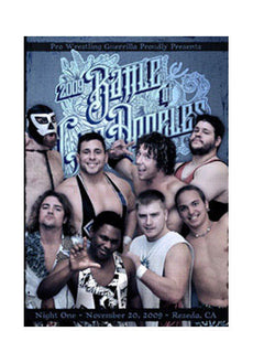 PWG - Battle Of Los Angeles 2009 Night 1 Event DVD