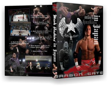 Dragon Gate : Mark Haskins in Japan DVD