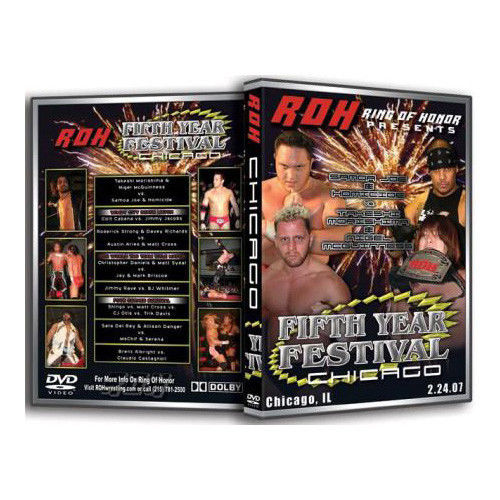 ROH - 5th Year Festival : Chicago 2007 Event DVD