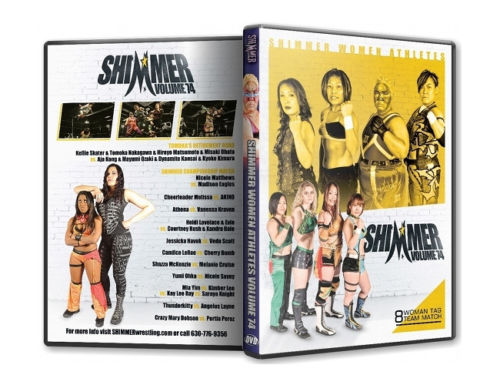 Shimmer - Woman Athletes - Volume 74 DVD