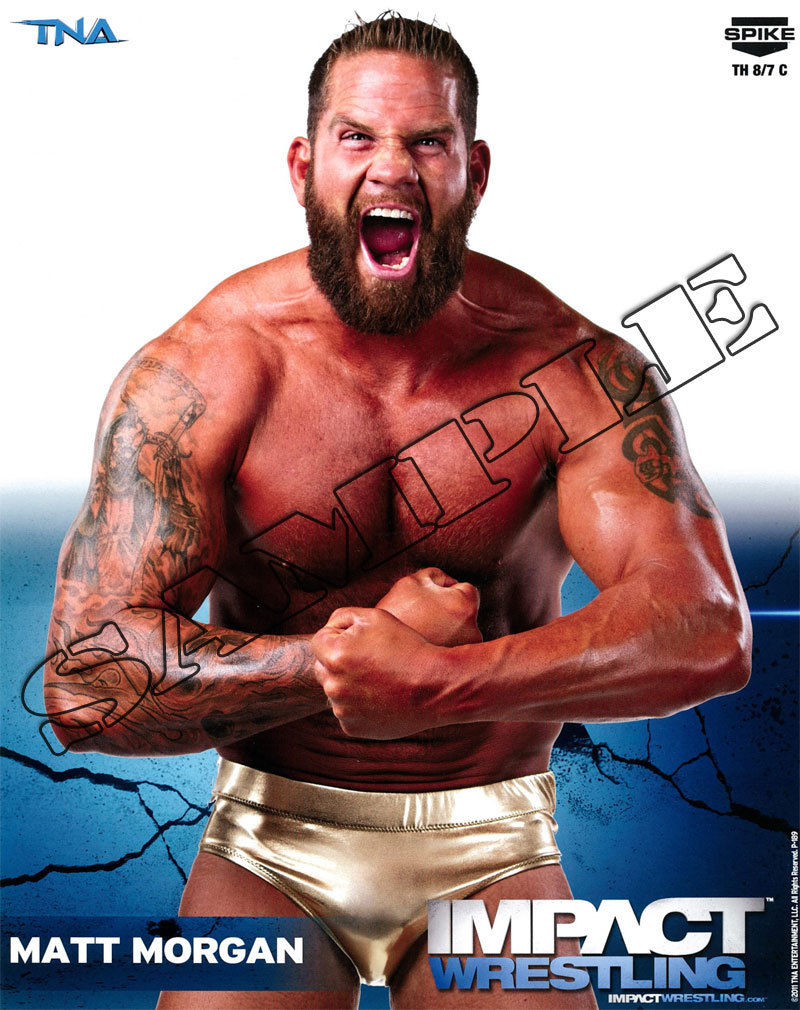 Impact Wrestling - Matt Morgan - 8x10 - P189