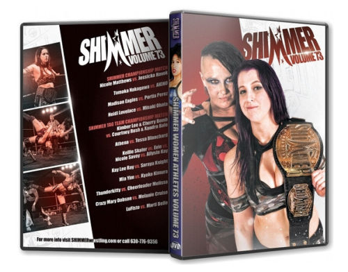 Shimmer - Woman Athletes - Volume 73 DVD