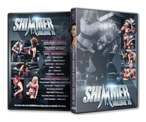 Shimmer - Woman Athletes - Volume 70 DVD