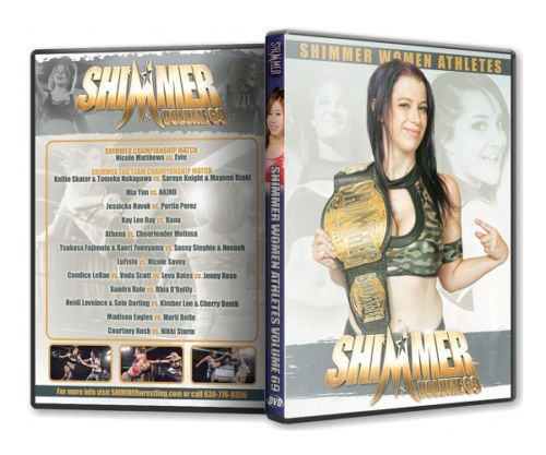 Shimmer - Woman Athletes - Volume 69 DVD
