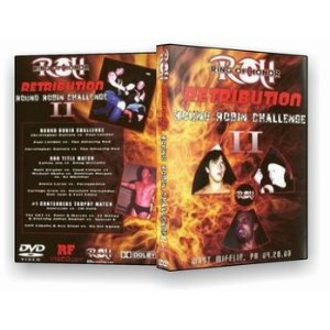 ROH - Round Robin Challenge 2 2003  Event DVD (Pre-Owned) Original Cover